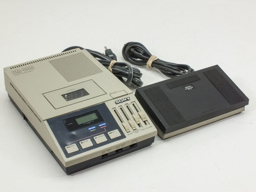 Sony BM-805  Microcassette Transcriber with Foot Pedal
