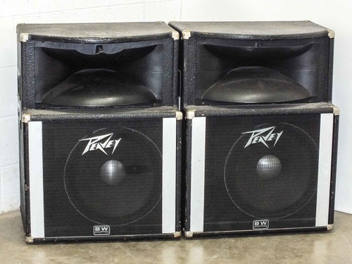 Peavey SP2  Pair of Vintage 150 Watt Precision Transducer Speaker Enclosure