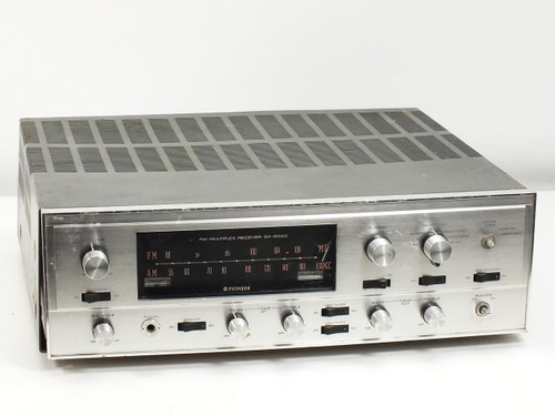 Pioneer SX-2000  AM/FM Tube Stereo Receiver AS IS for Parts