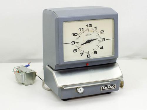 Amano 5609  Time Recorder Vintage 5600 Series Clock