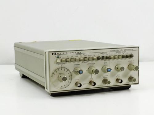 Hewlett Packard 3312A  Function Generator Modulation
