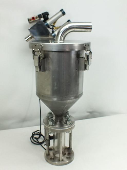 Stainless Steel Hopper  for plastic Injection molder molding machine