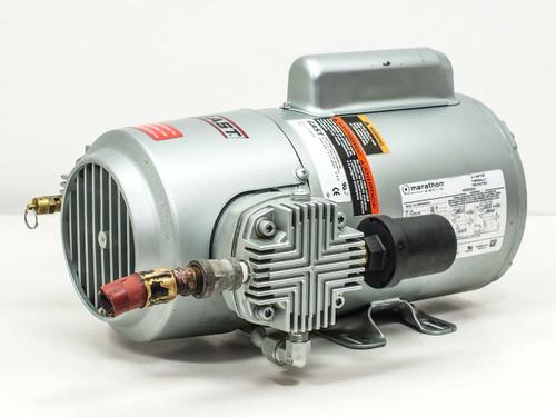 Gast 5HCD-43-M550NGX  Vacuum Pump with Marathon 3/4 HP Motor