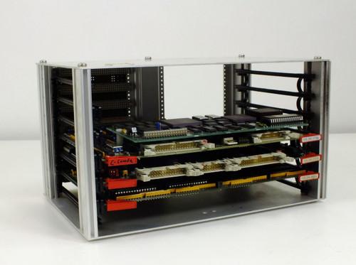 Netstal Card Bus  Enclosure with 3 Cards - Mem2 110.240.8680c, SPIO 110.240.7778e, CPU 110.240.7771h