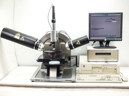 Philips PZ2000  Horiba Laser Ellipsometer 200MM with Computer & Monitor