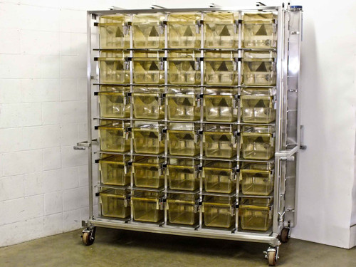 Allentown Caging Equipment RS10198U30MVPCD3  30 Space Cage