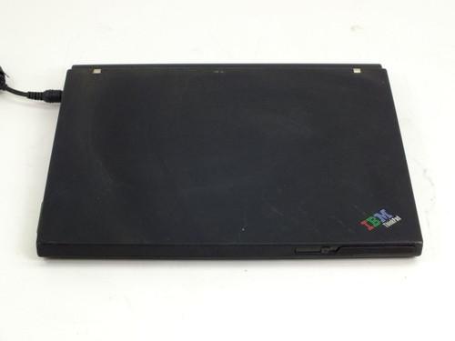 IBM 2371-8VU  ThinkPad Laptop X40, Intel 1.2GHZ, 1536MB RAM, 40GB HDD