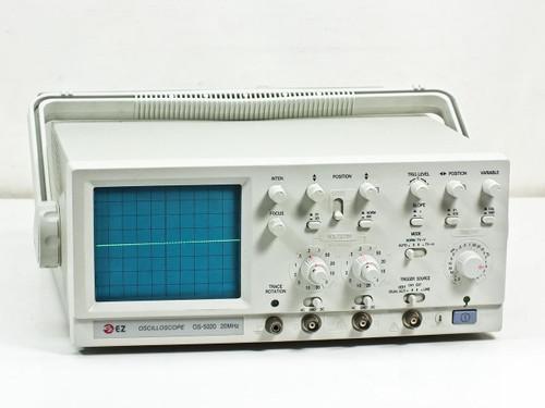 Dual Trace Oscilloscope : Ez digital os mhz bandwidth channel dual trace