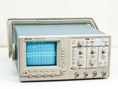 Tektronix TAS 485  Four Channel Oscilloscope 200 MHz