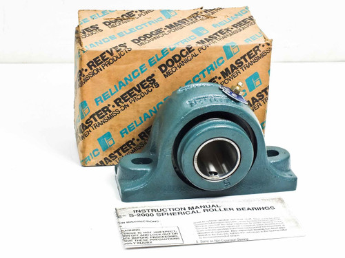 "Dodge P2B-S2-107R  1-7/16"" Pillow Block Standard Duty Spherical Roller Bearing"