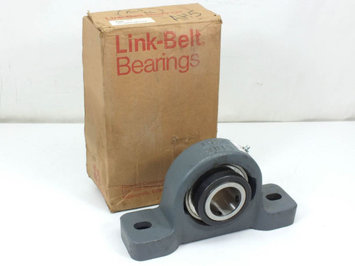 "Link-Belt PU331  1-15/16"" Pillow Block Heavy-Duty Non-Expansion Bearing"