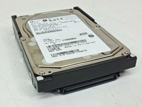 Fujitsu MAW3300NC  300GB 10K RPM Ultra320 80pin SCSI Hard Drive Dell PN HC490