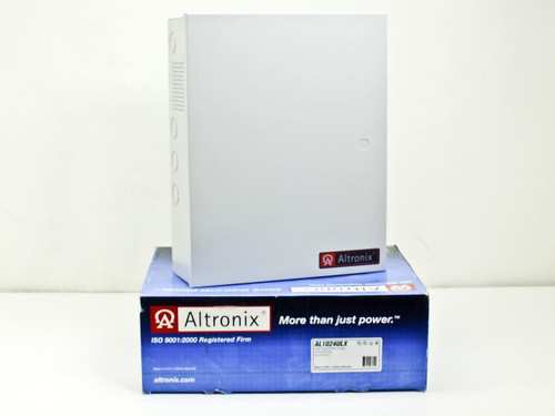 Altronix AL1024ULX  Single Output Power Supply / Charger with Housing