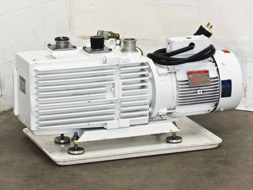 Leybold-Heraeus  D60A  Trivac Rotary Vane Dual Stage Mechanical Vacuum Pump