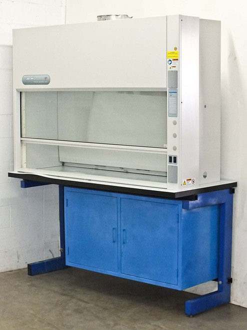 Labconco 2246400  Protector Laboratory Chemical Fume Hood with Storage Cabinet