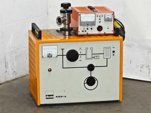 Alcatel ASM 10  Diffusion Pumped Portable Helium Leak Detector