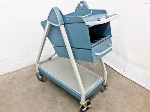 Tektronix 203   Scope-Mobile Portable Oscilloscope Laboratory Cart