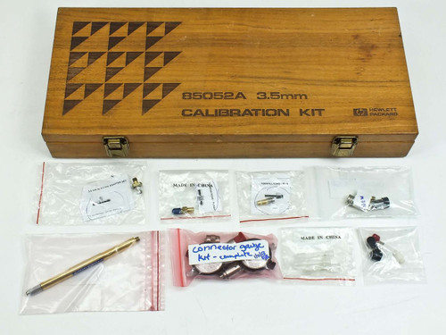 HP 85052A  3.5mm Calibration Kit (Option 010 15 cm Beadless Airline) Incomplete S