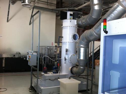 Duall FW303-26S  Vertical Ammonia Gas Wet Scrubber - 1800 CFM