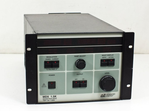 Advanced Energy 3152240-003 E  MDX 1.5K Magnetron Drive 750V/2A/1.5KW