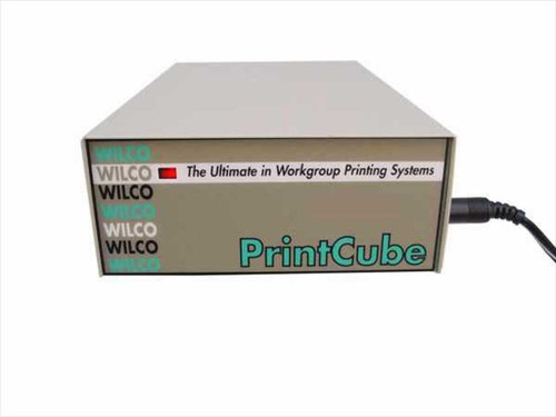 Wilco Printer Sharing Box Parallel & Serial Inputs - Networking (PrintCube)