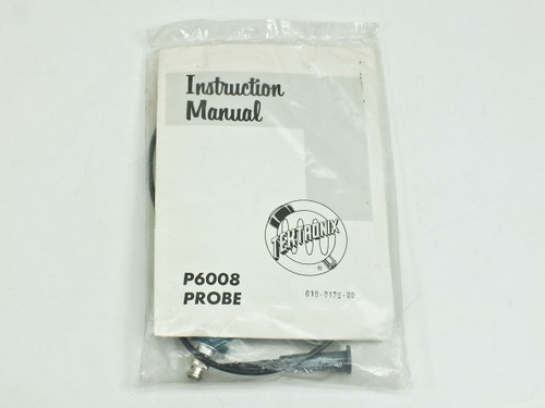 Tektronix P6008  Probe with Instruction Manual