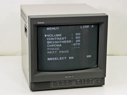 "Sony PVM-14N6U  14"" Trinitron Color Video Monitor"