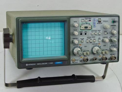 Hitachi V-660  60MHz Oscilloscope