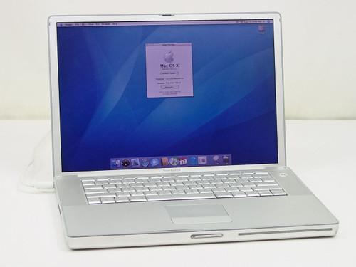 """Apple A1138  M9969LL/A 1.67 GHz G4 15"""" Powerbook"""