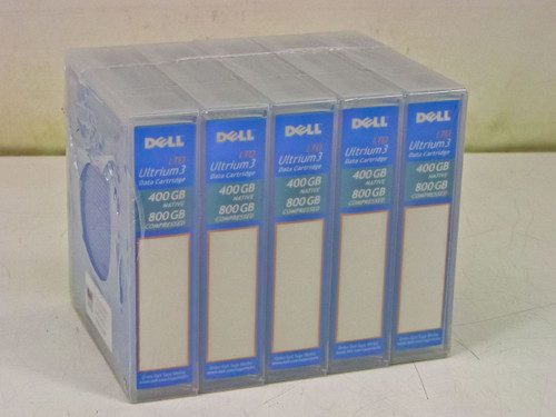 Dell HC591 5-Pack  LTO Ultrium 3 Data Cartridge 400/800 GB