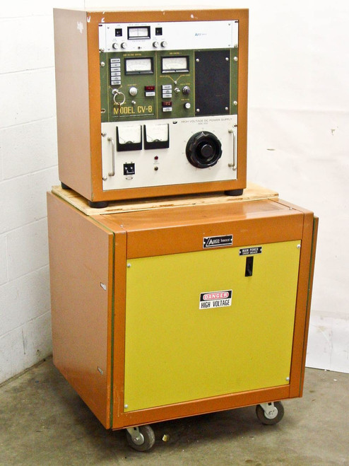 Airco Temescal CV-8-110  Electron Beam Power Supply with XYS-8 Sweep Control