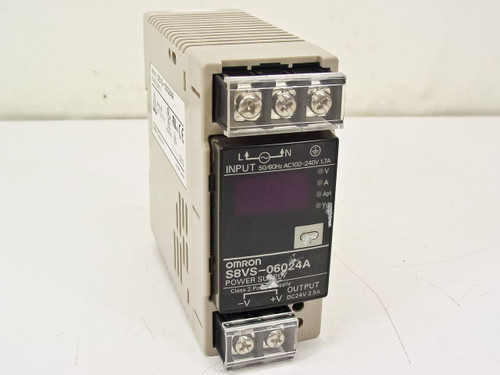 Omron S8VS-06024A  Switch Mode Power Supply With Indication Monitor