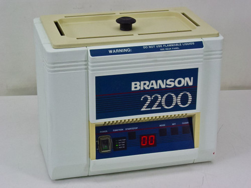 Branson 2200R-4  Ultrasonic Cleaner with Digital Timer and Digital Heat Control