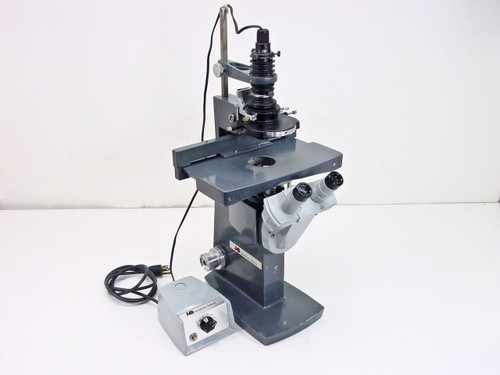 American Optical Inverted  Microscope with 1051 Power Supply/Transformer