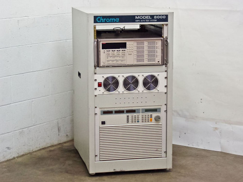 Chroma CSS8000-220  SMPS Test System Keithley 7002 63204 5.2KW Electronic Load