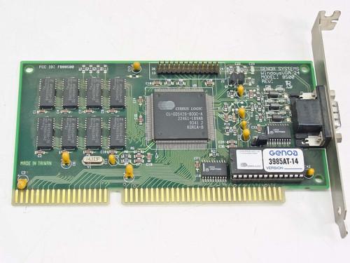 Genoa 8500  16 Bit ISA Rev.E Cirrus Logic CL-GD5426-800C-A