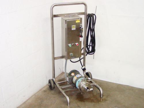 Waukesha 2045  Centrifugal Pump w/ Baldor 1.5HP Motor on Skid