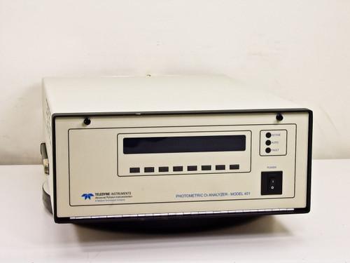 Teledyne ISCO 401X  Photometric O3 Ozone Analyzer Model 401