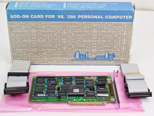 DTK PII-158  Mini/Micro-4 8 Bit ISA Floppy Disk Controller Card