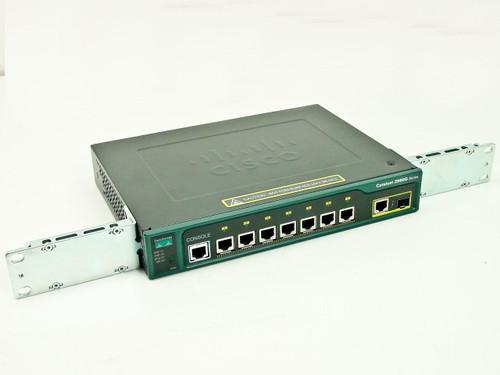 Cisco WS-C2960G-8TC-L  Catalyst 2960G Series 7 Port Gigabit 10/100/1000 Switch