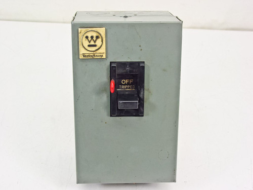 Westinghouse B-100  Manual Motor Starter