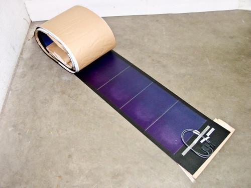 Uni-Solar PVL-120T  120 Watt 24 Volt Brand New Flexible Amorphous Solar Panel