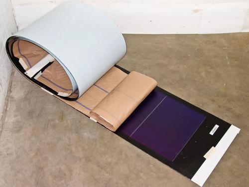 Uni-Solar PVL-124B  124 Watt 24 Volt Solder Point Brand New Flexible Amorphous Solar Panel