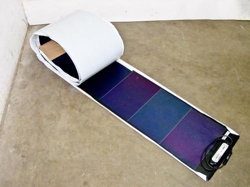 Uni-Solar ePVL-128T  128 Watt Brand New PowerBond Flexible Amorphous Solar Panel