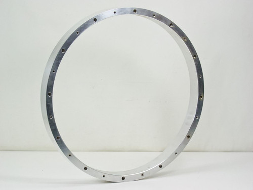 "Stainless Steel 20"" x 20"" x 2""  Vacuum Chamber Spacer"