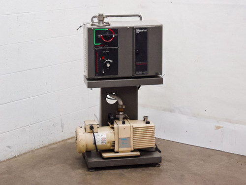Varian 938-41  Porta-test Helium Leak Detector with Stokes 110 Pump