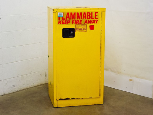 """Securall Cabinets 24"""" x 19"""" x 45""""  Safety Storage Cabinet for Flammable Liquids"""