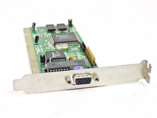 Trident  V536  16 Bit ISA 15 Pin TVGA8900D 55V536000B