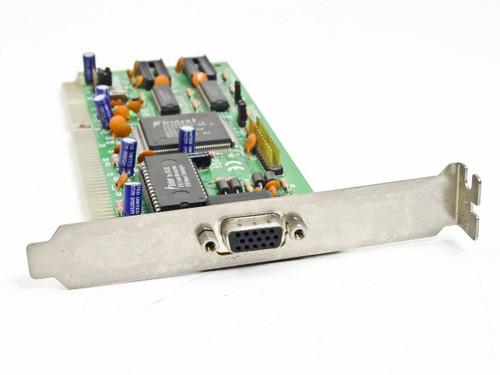 Trident 7210 Rev H1  16 Bit ISA 15 Pin Video Card TVGA9000i-3