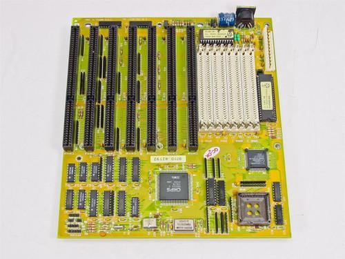 Biostar MB-1320/25C-B.4  Microtech System board 386 AM386 SX-SXL-25 Chip Vintage